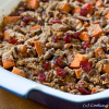 Thumbnail image for Roasted Sweet Potatoes with Cinnamon Pecan Crunch