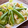 Thumbnail image for Caesar Salad with Sugar Snap Peas