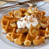 Thumbnail image for Caramelized Banana Waffles