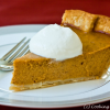 Thumbnail image for Classic Pumpkin Pie with Maple Cream