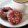 Thumbnail image for Heart-Shaped Baked Chocolate Doughnuts (+Seattle's Best Coffee Giveaway!)