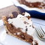 Thumbnail image for Rocky Road Brownie Pudding Pie