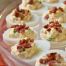 Thumbnail image for Bacon-Topped Deviled Eggs + Land O Lakes Giveaway!