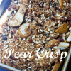 Thumbnail image for Pear Crisp…and One Busy Summer