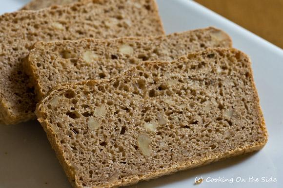 White Whole Wheat Walnut Bread