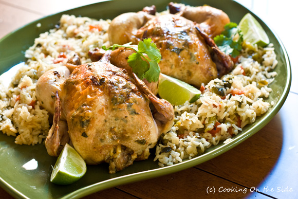 Post image for Garlic-Lime Cornish Game Hens