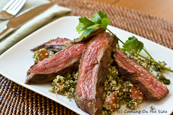 Post image for Grilled Steak Tabbouleh Salad