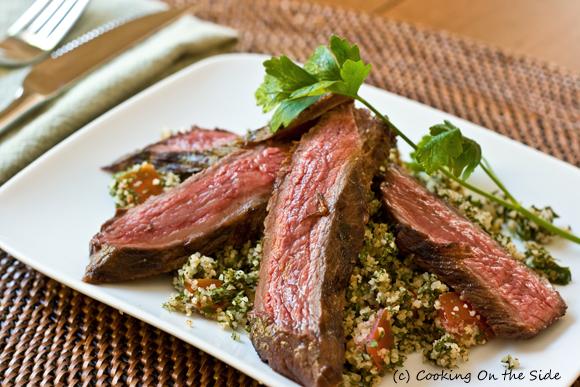 Post image for Grilled Steak Tabbouleh Salad