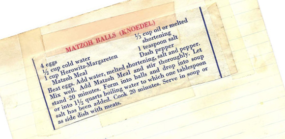 "The ""vintage"" on-the-package recipe my mother-in-law has followed for years"
