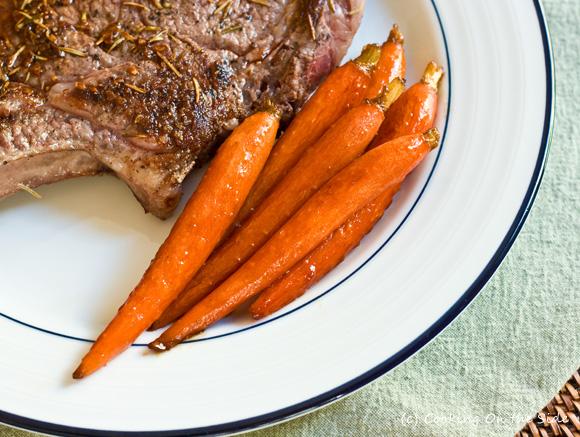 Vanilla Glazed Baby Carrots