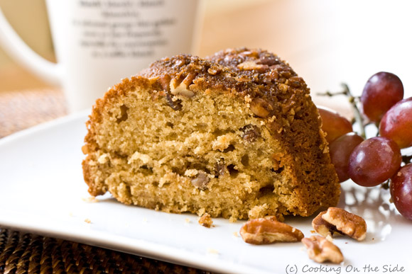 Post image for Sour Cream Pecan Coffee Cake