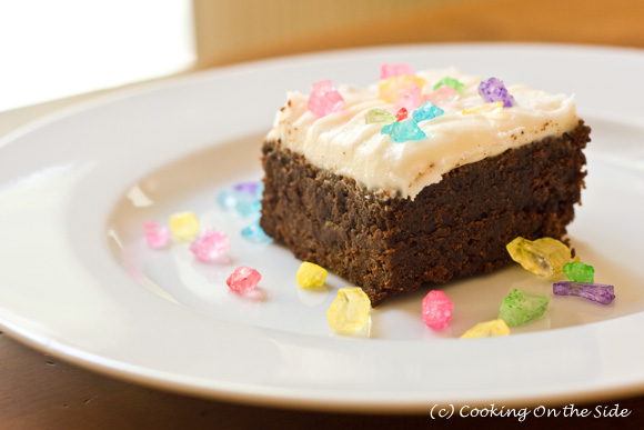 Coffee Fudge Brownies