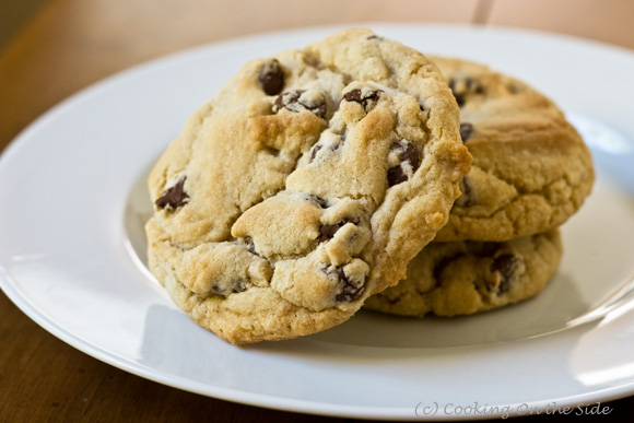 Recipe: Chewy Jumbo Chocolate Chip Cookies | Cooking On the Side