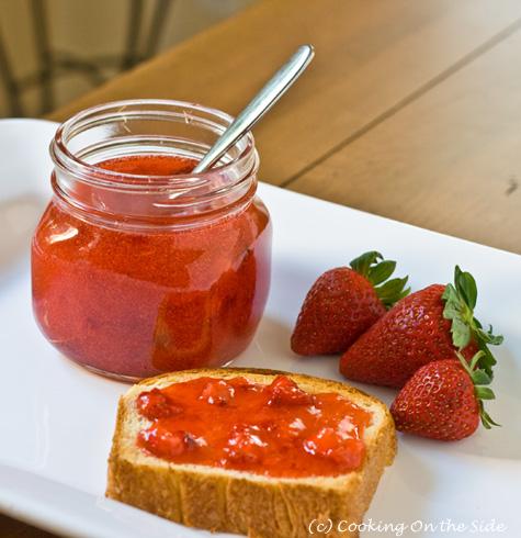 Quick & Easy Strawberry Jam