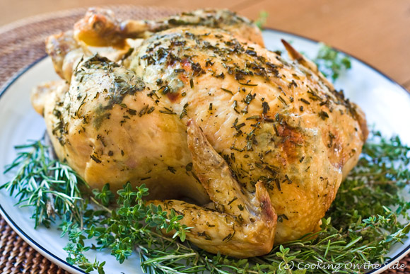 Herb-Crusted Roast Chicken