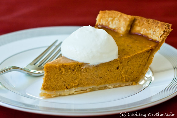 Post image for Classic Pumpkin Pie with Maple Cream