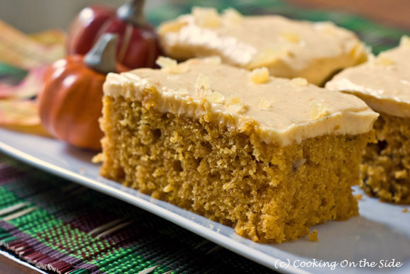 Recipe: Pumpkin Spice Cake | Cooking On the Side