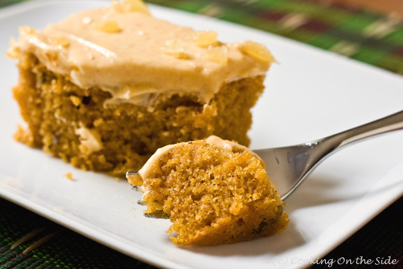 FOODS - RECIPES: Halloween Pumpkin Spice Cake