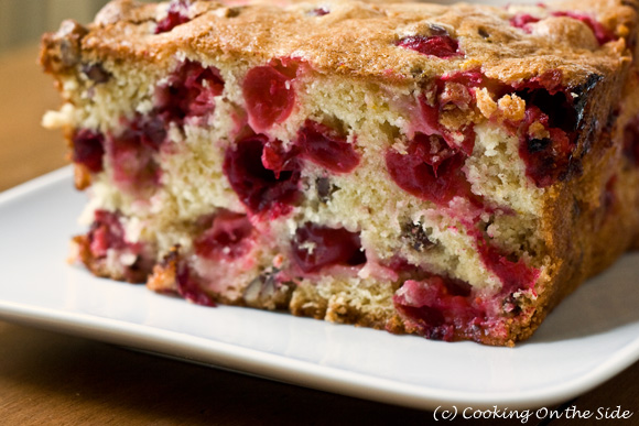 Recipe: Cranberry Bread | Cooking On the Side