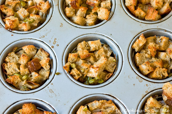 Post image for Herb Stuffing Muffins