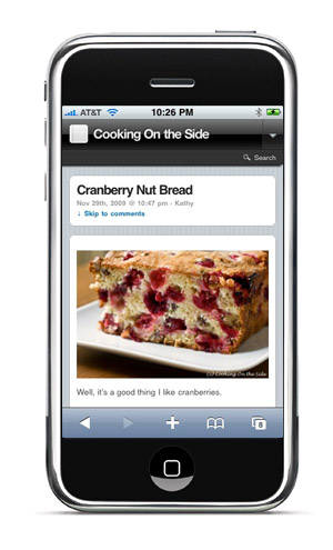 Cooking On the Side for iPhone