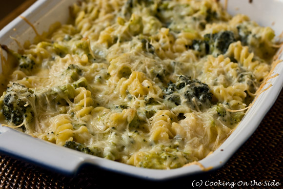 Post image for Broccoli Cheese Pasta Casserole
