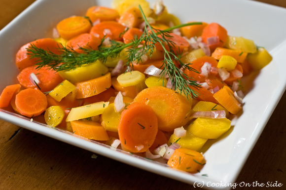 Post image for Chilled Dill Carrot Salad
