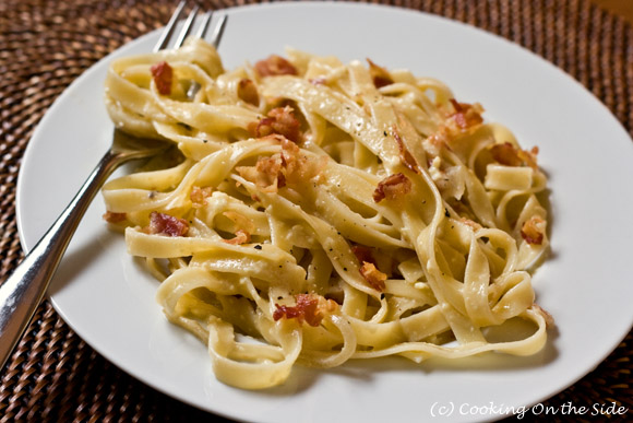 Post image for Fettucine Carbonara