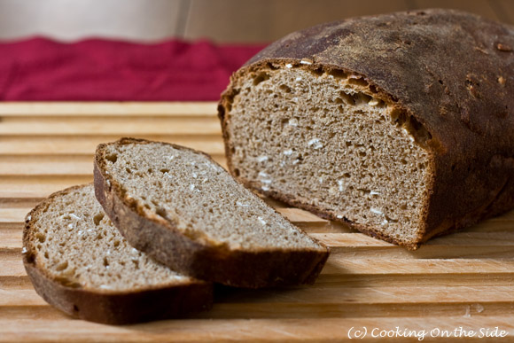 Recipe: Honey Oatmeal Bread | Cooking On the Side