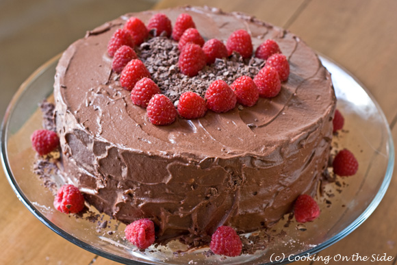 Cake Decor Recipes : Recipe: Chocolate Fudge Layer Cake Cooking On the Side