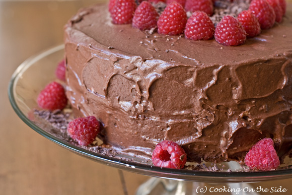 Recipe Chocolate Fudge Layer Cake Cooking On the Side