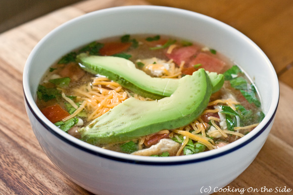 Post image for Quick Fiesta Chicken Soup