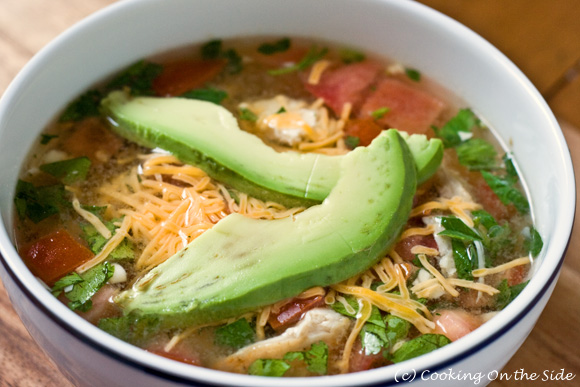 Recipe quick fiesta chicken soup cooking on the side forumfinder Image collections