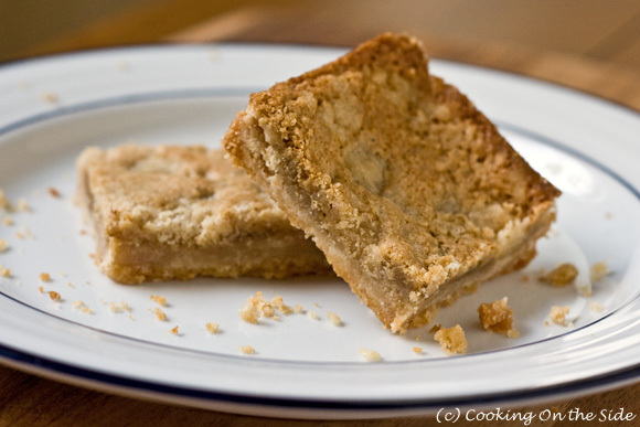 peanut butter bars from the utterly peanut buttery bars recipe