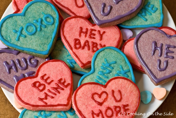 Post image for Valentine Heart Cookies