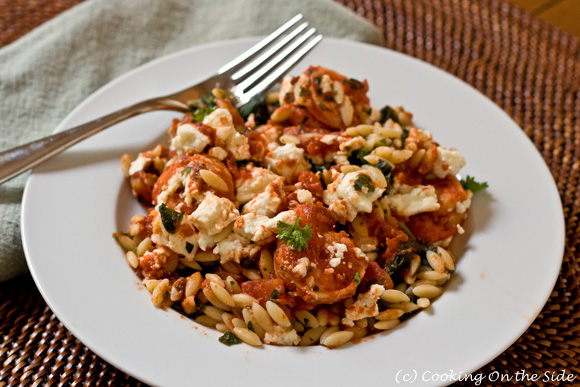 Post image for Shrimp with Orzo