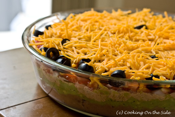 Post image for It's Dip Week! ~ 7-Layer Dip