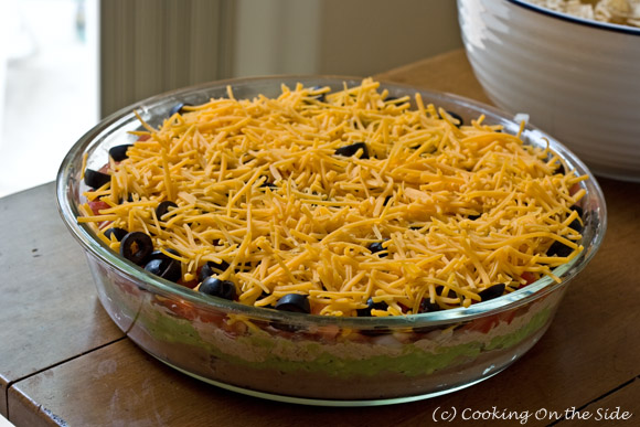 It's Dip Week! ~ 7-Layer Dip