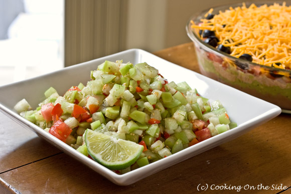 Post image for It's Dip Week! ~ Fresh Tomatillo-Lime Salsa