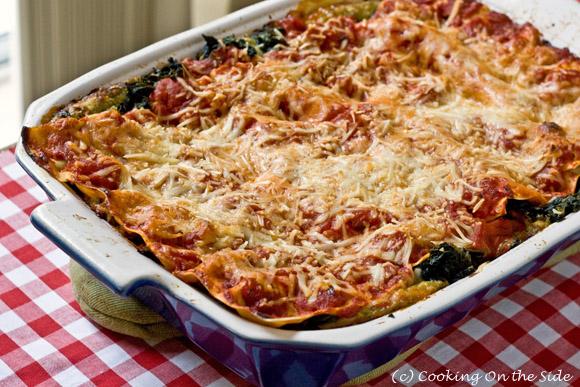 Post image for Spinach-Pesto Lasagna