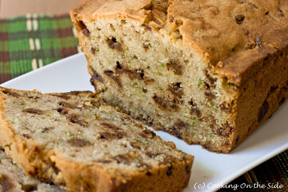 Post image for Chocolate Chunk Zucchini Bread