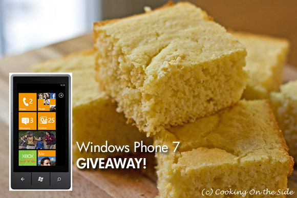 Post image for Classic Cornbread + WIN a Windows Phone 7!