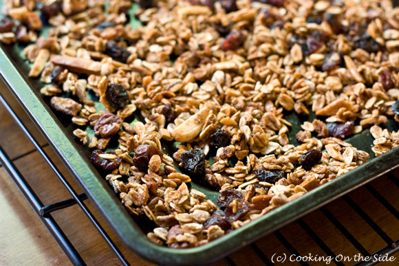 Post image for Maple Cinnamon Granola