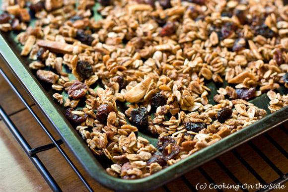 Post image for Maple Cinnamon Granola