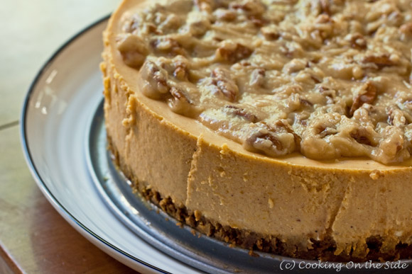 Post image for Maple Pumpkin Cheesecake…Getting it Perfect