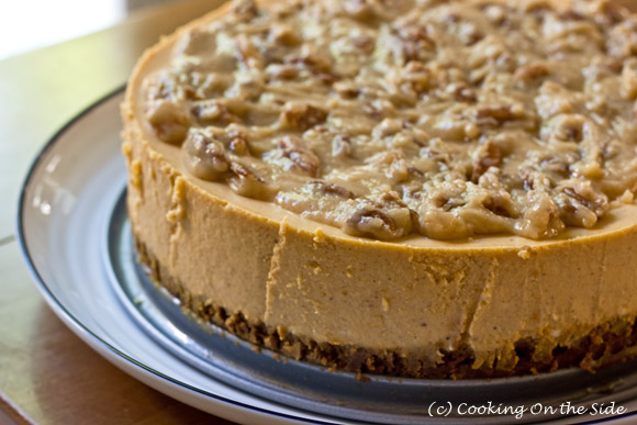 Recipe: Maple Pumpkin Cheesecake | Cooking On the Side