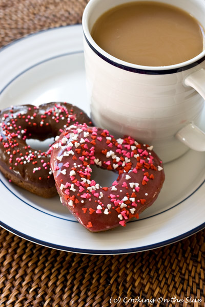 Post image for Heart-Shaped Baked Chocolate Doughnuts (+Seattle's Best Coffee Giveaway!)