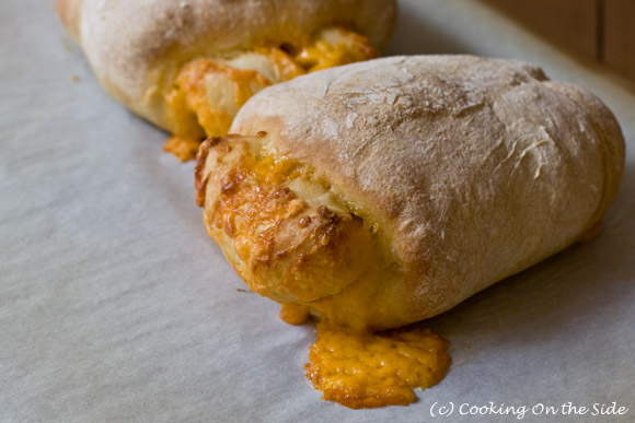 Post image for Cheddar-Stuffed Crusty Loaves