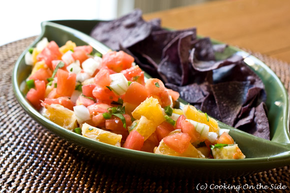 Post image for Citrus Salsa…Are You Sweet or Salty? (Take the Quiz!)