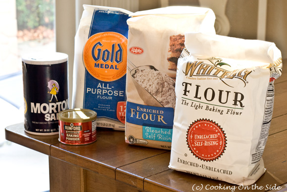 Here are the flours